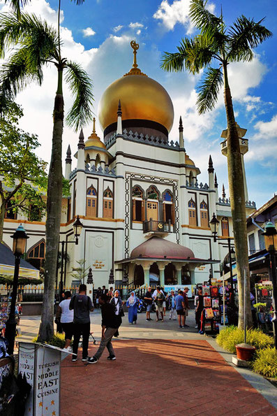 Masjid Sultan Mosque on Arab Street, Singapore | Best Places to Visit in Singapore in 3 Days | Things to do in Singapore | #singapore #SG #travel #arabstreet