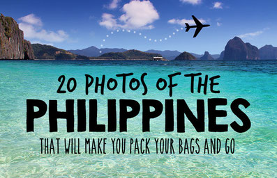 Travel the Philippines 2015: 20 Photos that will make you pack your bags and go
