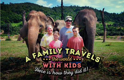 A Family Travels The World With Kids for 3 Years! Here is how they did it!