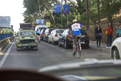 Plaza España bicis clásicas