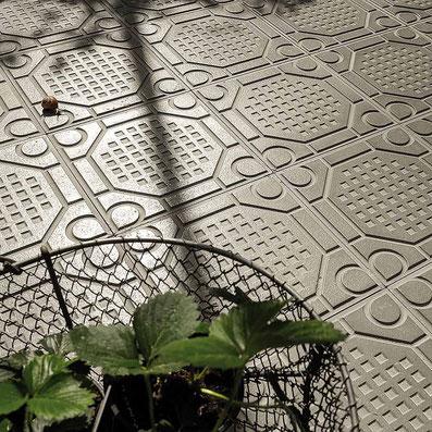 Zementfliesen für Außenbereiche von VIA