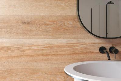Holzeffektfliese der Firma Living Ceramics