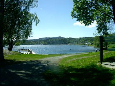 Hvalstrand, Asker, Norwegen