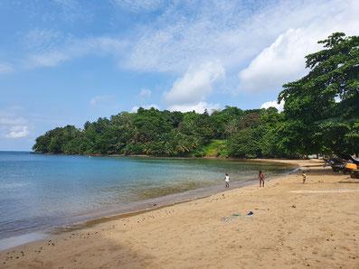 Praia Abade, Príncipe