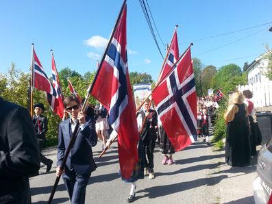 17. Mai in Norwegen