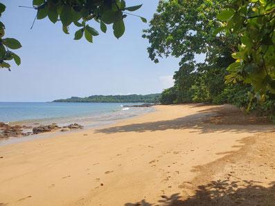 Praia Sundy, Príncipe