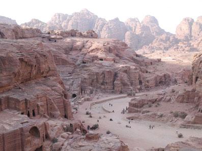 Felsenstadt Petra, Jordanien