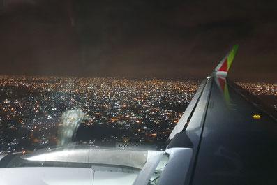 Ankunft in Accra, Ghana