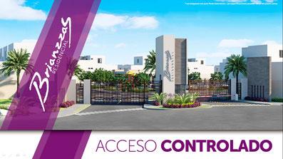 Casas en escobedo con acceso controlado, brianzzas residencial