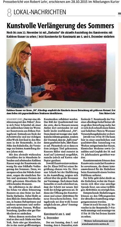 Nibelungen Kurier 28.10.2015