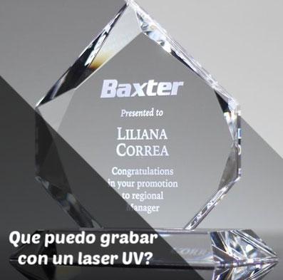 Grabado laser UV, maquinas laser UV, que puedo grabar con un laser UV