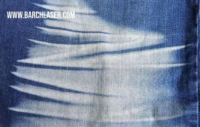 Grabado de jean con maquina laser CO2