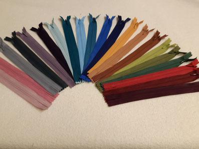 Nahtreißverschlüsse in großer Farbauswahl, 20+ 60cm