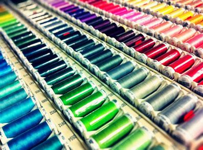 Nähgarne in großer Farbauswahl