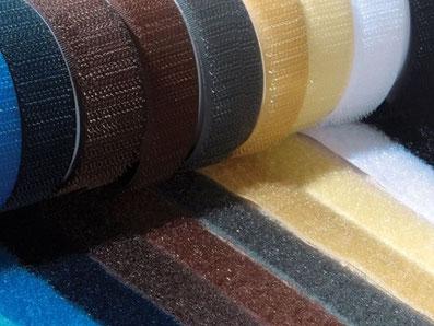 Klettband in vielen Farben