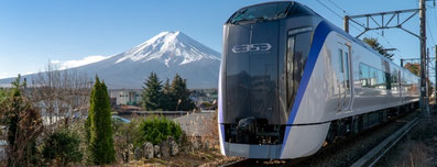 直通特急『富士回遊』写真