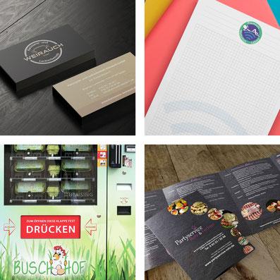 DäSi-Grafik Printdesign für Flyer, Broschüren usw.