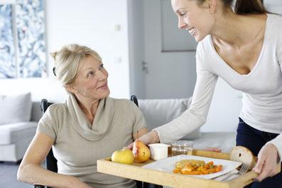 Repas à domicile pour les personnes agées