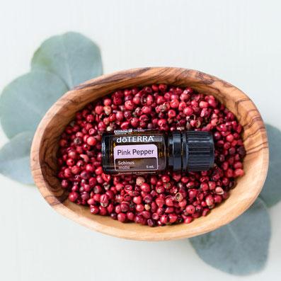 doTERRA Pink Pepper (Rosa Pfeffer) Öl Deutsch: Anwendung, Wirkung, Kaufen, Berater, Rezepte