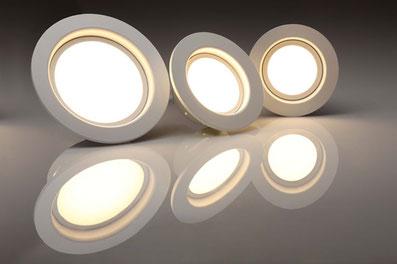 L'éclairage LED, spots encastrés, câbles tendus,..Eclairage intérieur, éclairage extérieur toute une gamme de produit sur catalogue