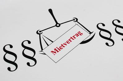 Ein Mietvertrag regelt das Verhältnis zwischen Mieter und Vermieter