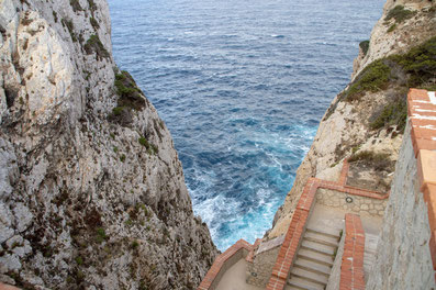 Grotta di Nettuno Neptungrotte Sardinien Reisebericht