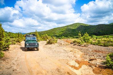 Sardinien Reisebericht Offroad 4x4 Defender