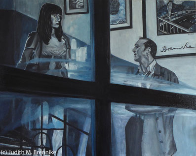 Brennike Im_rechten_Licht Ölgemälde Kunst  Malerei figurativ, Judith Maria Brennike