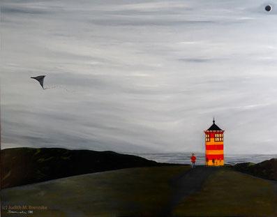 Brennike Malerei, Ölgemälde, Leuchtturm, Kunst, Symbolismus