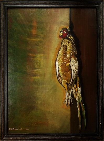 Brennike Malerei, Ölgemälde, Die Liebe zur Natur 3, Kunst, Symbolismus, figurativ