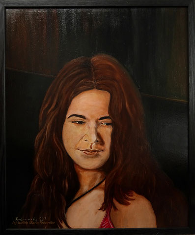 Brennike Anna Phase 1, Ölgemälde, Portrait, Kunst, Malerei, figurativ, Judith Maria Brennike
