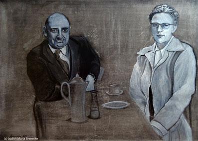 Brennike, Das Harren, Ölgemälde, Kunst, Malerei