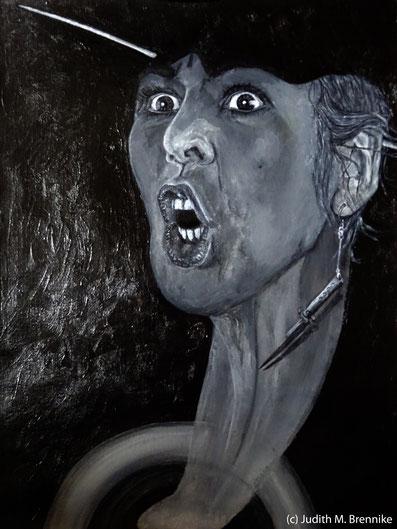 Brennike Ab-Fluss Malerei Kunst Surrealismus