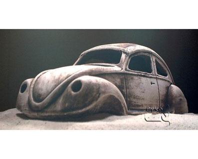 VW Käfer Aquarium-Ornament