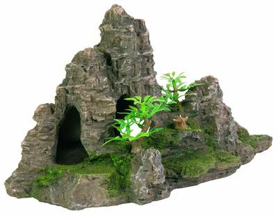 Trixie 8853 Felsformation mit HöhlePflanzen