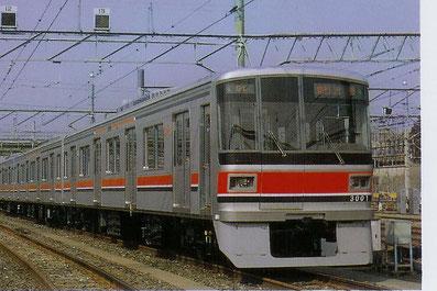 (3000系) 東急車輛製造㈱ 横浜製作所     車両組立・ぎ装作業