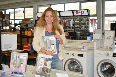 Ladengeschäft für Elektrogeräte