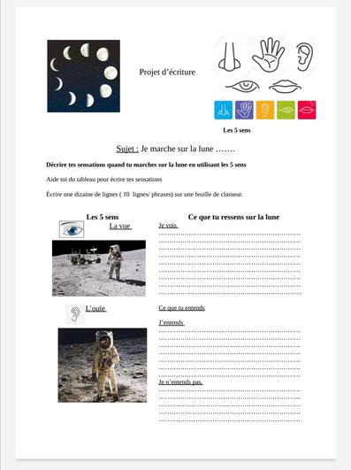 Bien en classe Mission Alpha Thomas Pesquet Mission X Marche vers la Lune sciences astronomie expériences école classe cycle 3 collège lycée