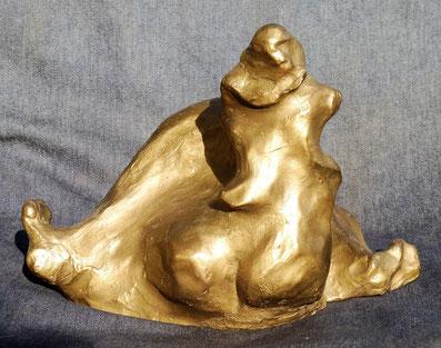 Naîade  (vue n°1)-( bronze )