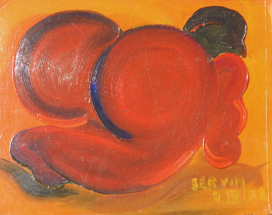 la jouflue (huile sur toile)