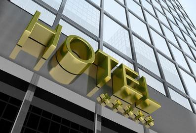 drei boxspringbetten für Hotel + TELEFUNKEN A55F446A LED-TV