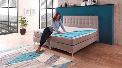 boxspringbett rockstar direkt vom hersteller boxspringbetten. Black Bedroom Furniture Sets. Home Design Ideas