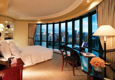 Hotelzimmer mit Panorama