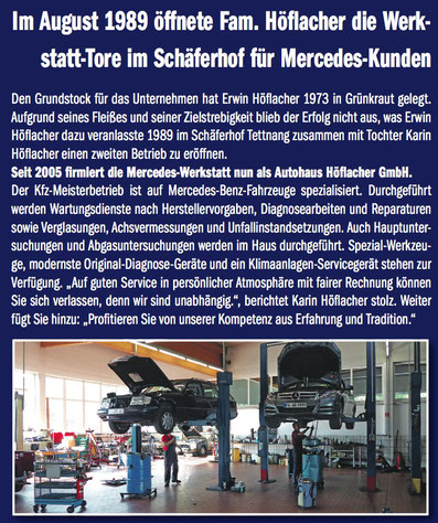 Mercedes Tettnang Höflacher