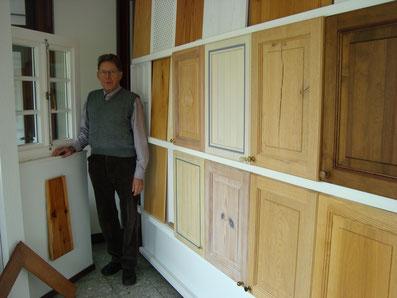 Hier befindet sich ein Foto von Hermann Degen in unserer Ausstellung