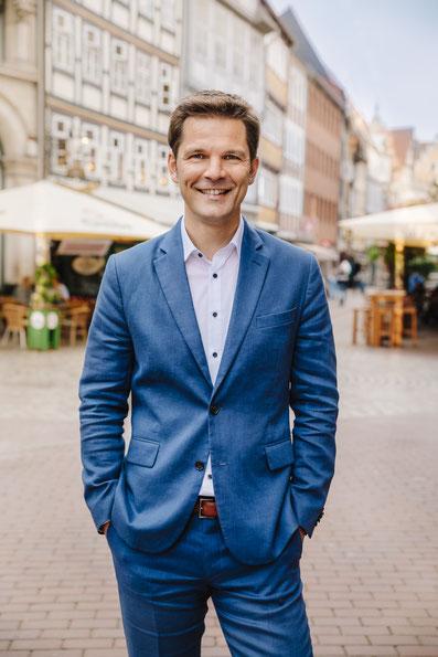 Porträt Steffen Krach Wahlkampf 2021