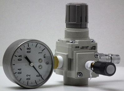 空気圧警報器点検装置