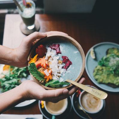 Die acht besten veganen Restaurant und Cafés in Canggu Bali