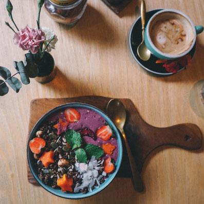 vegane Cafés in Canggu