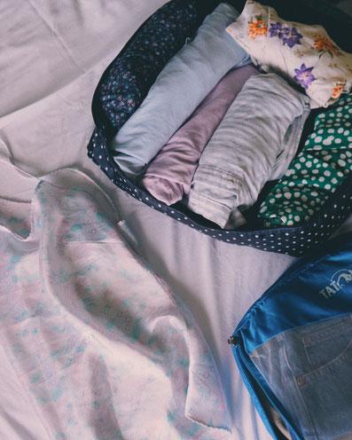 Packliste für eine Backpacking Reise